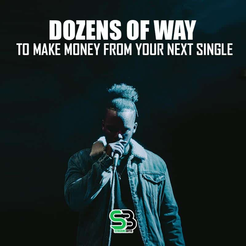 Dozens of way to make money from your next spotify single