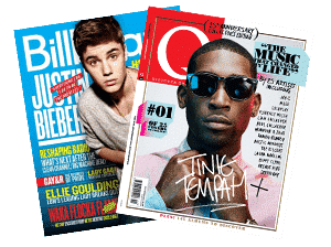 Buy Spotify plays - Music magazine Publication