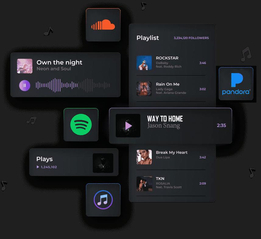 Music-streaming-service---Spotify-Pandora-Soundcloud
