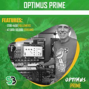 Optimus Prime - Spotify Bundle Promotion