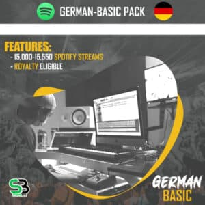 GERMANY Basic- Buy GERMANY spotify streams