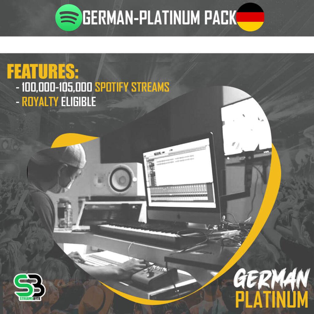 GERMANY Platinum- Buy GERMANY spotify streams